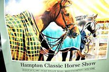 Hamptons Classic Horse Show 1997 Poster Original