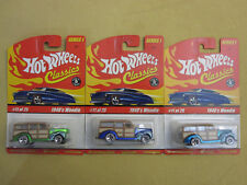 Hot Wheels Classics Series 1 1940's Woodie #11 of 25 Lot - New