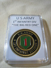 "US ARMY 1st INFANTRY DIVISION  ""THE BIG RED ONE"" Challenge Coin"