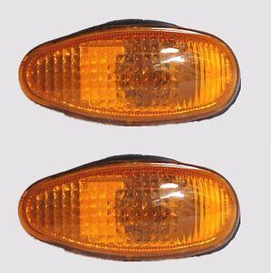 2x Side Fender Lamp Light Repeater Mitsubishi PAJERO MONTERO Space Wagon Eclipse