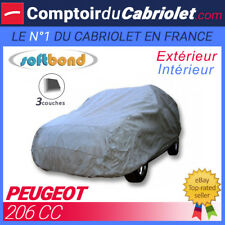 Housse Peugeot 206 CC - SoftBond® : Bâche de protection mixte