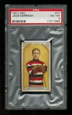 PSA 4  JACK DARRAGH 1911 C55 Hockey Card #17