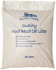 Wood Based cat Litter 30 Litres Bags