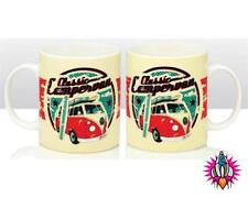 OFFICIAL VW VOLKSWAGEN CLASSIC CAMPER VAN TEA COFFEE CHINA CUP MUG NEW & BOXED