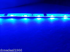 BLUE MODDING PC MOBO BACKLIGHT CASE LIGHT LED MOLEX SINGLE 30CM STRIP