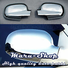 Chrome Side Rear View Mirror Cover Trim for 01~04 Hyundai Santa Fe