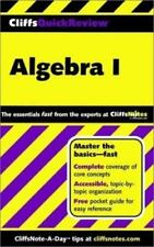 CliffsQuickReview Algebra I (Bk. 1) by Bobrow Ph.D., Jerry