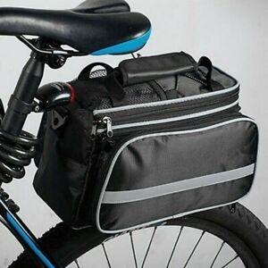 Bicycle Seat Rear Bag New Waterproof Bike Pannier Rack Pack Shoulder Cycling Bag