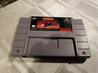 Super Nintendo Snes - TURN AND BURN NO FLY ZONE - Cart Only - USA Import NTSC