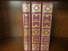 Easton Press-DICKENS-Tale of Two Cities-David Copperfield-Great Expectations-3v.