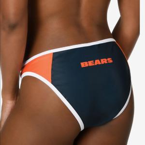 Forever Collectibles Women's Chicago Bears Team Logo Swim Suit Bikini Bottom