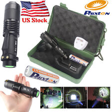 Bright Mini 5000LM 5Mode XM-L T6 LED Zoomable 18650 Flashlight Torch Battery US