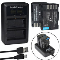 DMW-BLF19E DMW-BLF19PP Battery /charger For Panasonic Lumix DMC-GH3 GH3A GH4 Cam