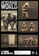(IN STOCK) ORITOY Acid Rain World Sand Infantry 1:18 military Action Figure _US