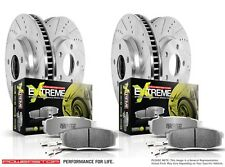 Power Stop K6167-26 Z26 Street Warrior Front/Rear Disc Brake Pad and Rotor Kit