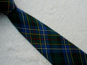 TARTAN COCKBURN 3.75 INCH polyester TIE necktie by LOCHCARRON