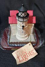 Lefton  Lost Lights Series Waukegan Lighthouse Illinois 1899 Limited Ed 5000