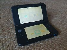 Nintendo 3DS XL Blue and Black with Game