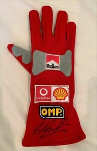 Michael Schumacher signed Ferrari F1 racing glove Formula 1 *RARE*