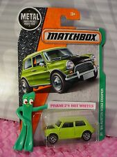2017 MATCHBOX #117 '64 AUSTIN MINI COOPER☆light green☆EXPLORERS☆Case A/B☆metal