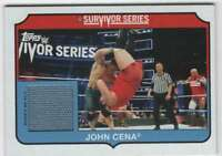2018 Topps WWE Heritage Survivor Series 2017 Mat Relic /299 #SS-JC John Cena