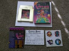 Linus Spacehead's Cosmic Crusade Nes Camerica Cart 100% Complete WITH STICKERS