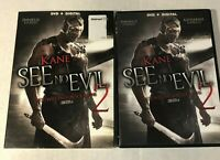 See No Evil 2 Two (DVD, 2014) Kane WWE Widescreen With Slipcover