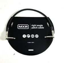 Instrument Cable Patch MXR 1 foot (~.33m) Right Angle Ends Lifetime Warranty