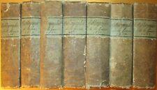 Bibliographie de la France 1818 - 1824 7 vols Journal General de L'Imprimiere...