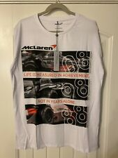 McLaren F1 Men's Official 'Heritage' T-Shirt - 2018 - Euro Large US medium