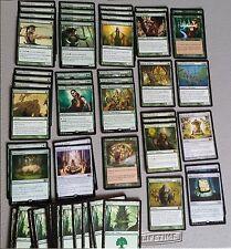 60 Card Deck - MONO GREEN EZURI ELF - Ready to Play - Rare cards - Magic MTG FTG