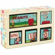 Hallmark Peanuts Happiness Is Perpetual Calendar New