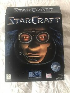 StarCraft PC Collector's Special Edition Terran Big Box Vintage Classic