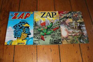 Zap Comix #7, 14-15 w/ Crumb Rodriguez Williams Rick Griffin Clay Wilson Shelton