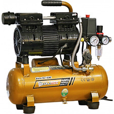 Whisper Silent Compressor Pro 80l Oil Free Low Noise 69db Air Compressor Clinic Complete In Specifications Hydraulics, Pneumatics, Pumps & Plumbing Other Air Compressors