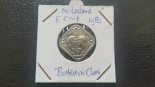 Netherlands 1980 - 5 cent Beatrix en Claus together on one coin.