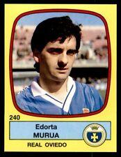 Panini Futbol 89 (España) Edorta Murua Real Oviedo Nº 240