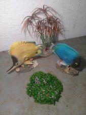 New listing Lot Of 4 Fish Tank Decorations, Fish & Plants