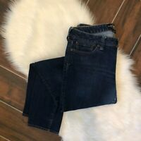 Lucky Brand Mid Rise Jeans Size 10 30 Waist Lola Skinny Medium Wash Low Rise