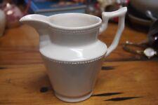 "I. Godinger and Co Pitcher Creamer – Ceramic Cream Ivory Color – 4 ½"" tall"
