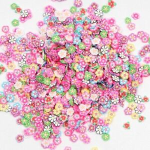 Polymer Clay 1000Pcs Flower Crafts Flatback Scrapbooking For Embellishments Nail
