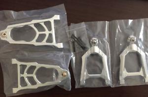 CNC metal front suspension arm set for ROVAN KING MOTOR HPI baja 5B 5T SS