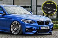 Frontspoiler aus ABS passend für BMW 2er F22 F23 M-Paket mit ABE Carbon Optik