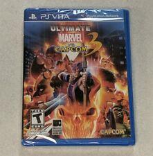 Ultimate Marvel vs Capcom 3 PlayStation Vita Sony PSVita Sealed!