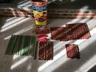 Vintage Original Playskool Lincoln Logs 200+ pieces cabin fort animals stockade