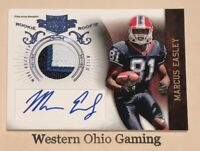 2010 Panini Marcus Easley #223 Autographed Jersey Rookie Card RC #23/25 MADE
