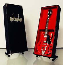 Marty McFly - Red Gibson ES-345 - Miniature Guitar Replica