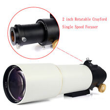 New 90mm F500 Refractor Astronomical Telescope OTA DSLR Photography US Free Ship