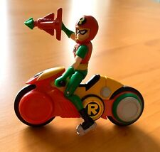 "Teen Titans - 3.5"" Robin With Helmet And Motorcycle"