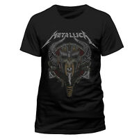 Metallica T Shirt Viking Hardwired to Self Destruct Official Black Mens Tee Rock